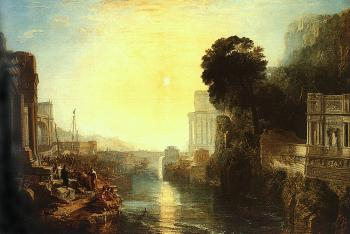 Joseph Mallord William Turner : Dido Building Carthage