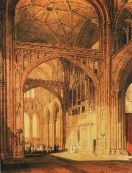 Turner, Joseph Mallord William - Interior of Salisbury Cathedral