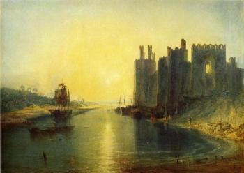 Turner, Joseph Mallord William - Caernarvon Castle