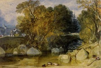 Joseph Mallord William Turner : Ivy Bridge, Devonshire