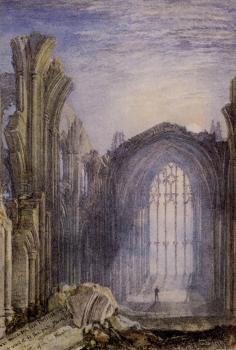 Turner, Joseph Mallord William - Melrose Abbey