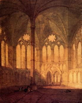 Turner, Joseph Mallord William - The Chapter House, Salisbury Chathedral