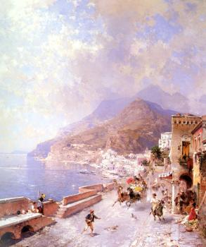 Franz Richard Unterberger : Amalfi