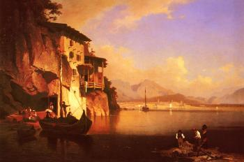 Franz Richard Unterberger : Motion of the Garda Lake