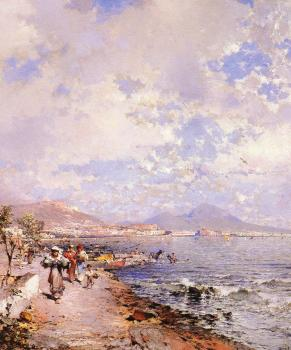 Franz Richard Unterberger : The Bay of Naples
