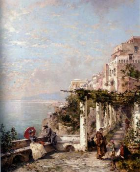 Franz Richard Unterberger : Franz Richard Unterberger Die Amalfi Kuste, The Amalfi Coast