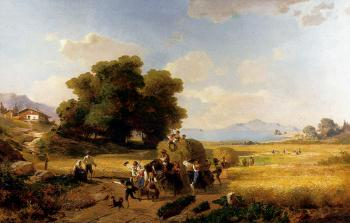 Franz Richard Unterberger : The last Day Of The Harvest