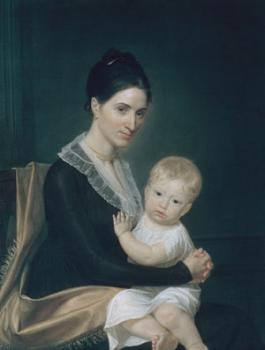 John Vanderlyn : Mrs. Marinus Willett and Her Son Marinus, Jr.