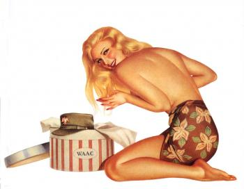 Alberto Vargas Art, Pin Up Girls