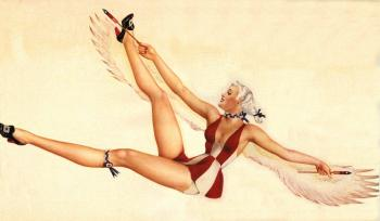 Pin up girl V