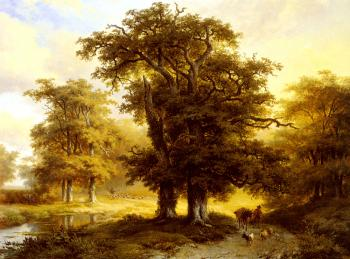 Eugene Joseph Verboeckhoven : The Country Road