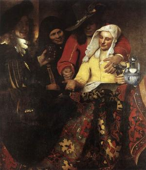 Jan Vermeer : The Procuress