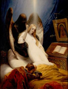 Horace Vernet : Angel of the Death