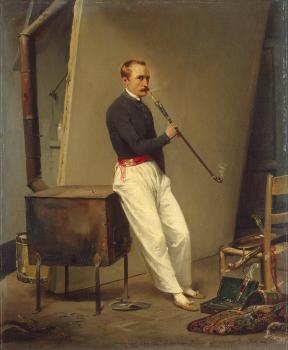 Horace Vernet : Self-Portrait
