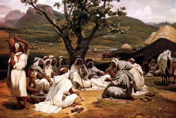 Horace Vernet : The Arab Tale-teller
