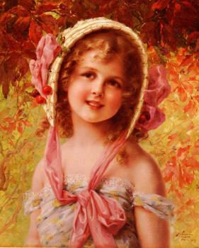 Emile Vernon : The Cherry Bonnet