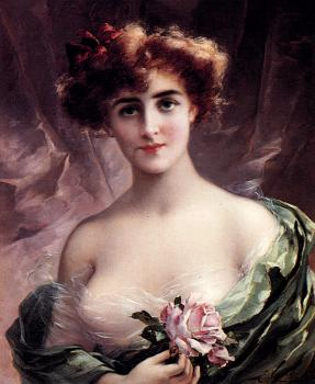 Emile Vernon : The Pink Rose