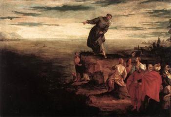 St Anthony Preaching to the Fish