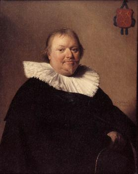 Jan Cornelisz Verspronck : Portrait of Anthonie Charles de Liedekercke