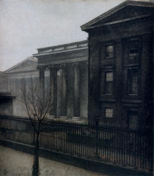 The British Museum in the Winter