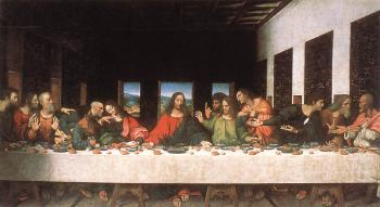 Leonardo Da Vinci : Last Supper