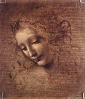 Leonardo Da Vinci : Female head