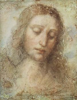 Leonardo Da Vinci : Head of Christ