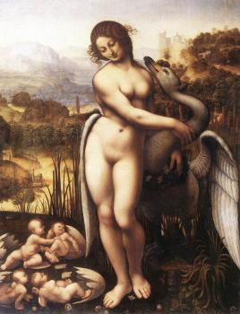 Leonardo Da Vinci : Leda and the Swan