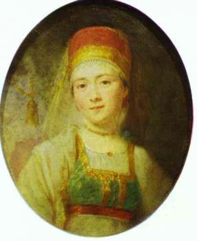 Christina, the Peasant Woman from Torzhok