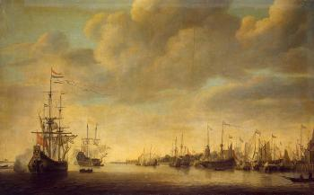 Arrival of William of Orange in Rotterdam