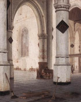 Hendrick Cornelisz Van Vliet : Church Interior