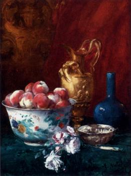 Antoine Vollon : Still Life With Peaches