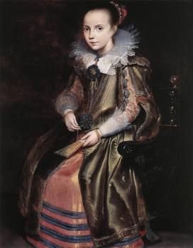 Cornelis De Vos : Elisabeth Vekemans as a Young Girl