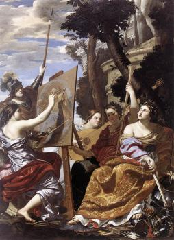 Simon Vouet : Allegory of Peace