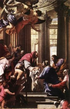 Simon Vouet : Presentation in the Temple