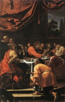 Simon Vouet : The Last Supper
