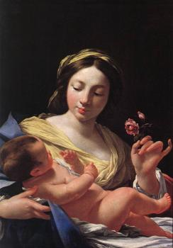 Simon Vouet : Virgin and Child