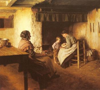 Walter Langley : The New Arrival