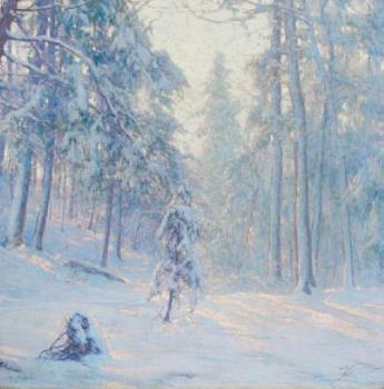 Walter Launt Palmer : Winter Haze