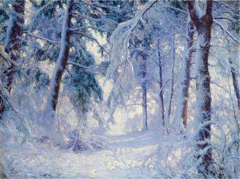 Walter Launt Palmer : Winter forest