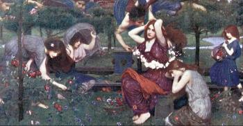 John William Waterhouse : Flora and the Zephyrs
