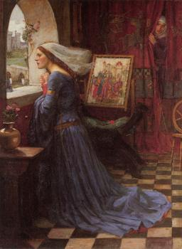 John William Waterhouse : Fair Rosamund