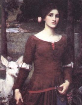 John William Waterhouse : The Lady Clare