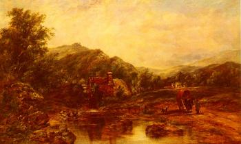 Frederick Waters Watts : A Mill Stream Among The Hills
