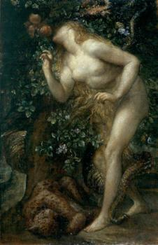 George Frederick Watts : Eve Tempted
