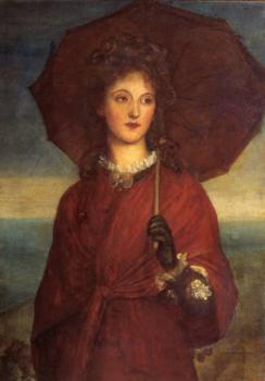 George Frederick Watts : Eveleen Tennant later Mrs F.W.H. Myers exhibited