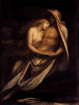 George Frederick Watts : Paulo And Francesca