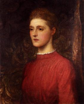 George Frederick Watts : Portrait Of A Lady