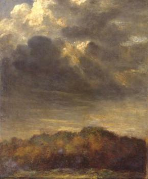 George Frederick Watts : Study of Clouds