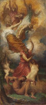 George Frederick Watts : The Creation of Eve